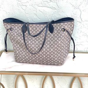 Authentic Louis Vuitton Idylle Neverfull MM Tote